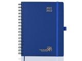 Agenda 2021 2022 Semainier env. A5 - Agenda Scolaire 2021 2022 Spirale (Août 2021 - Août 2022) avec Couverture Rigide, Pages Notes et d'adresses, 22 x 16,5 cm