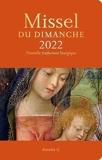 Missel 2022 et son livret Vivre la messe