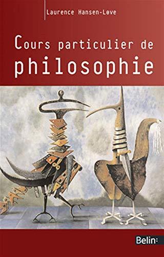 Cours particulier de philosophie