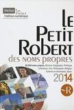 Petit Robert Noms Propres 2014
