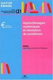 Apprentissages numériques au CE1, édition 2001 - Hatier - 08/08/2001