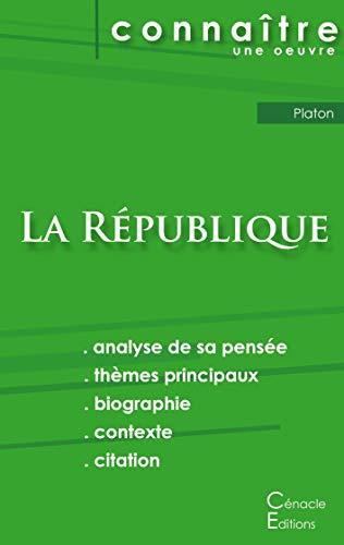 Fiche de lecture La République de Platon (analyse littéraire de référence et résumé complet)