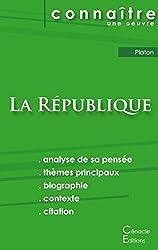 Fiche de lecture La République de Platon (analyse littéraire de référence et résumé complet) de Platon