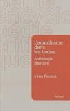 L'anarchisme dans les textes - Anthologie libertaire