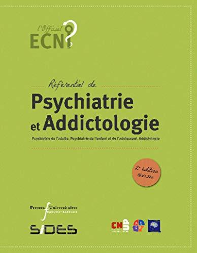 Ecn Referentiel De Psychiatrie Et Addictologie