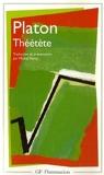 Théétète - Flammarion - 04/01/1999
