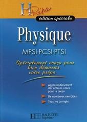 Physique MPSI-PCSI-PTSI de Marc Ménétrier