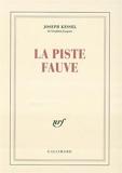 La Piste fauve - Gallimard - 02/05/1954