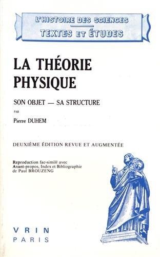 La théorie physique