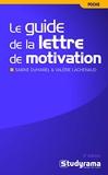 Le guide de la lettre de motivation - Studyrama - 20/09/2010
