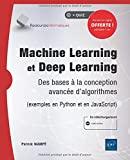 Machine Learning et Deep Learning - Des bases à la conception avancée d'algorithmes (exemples en Python et en JavaScript)