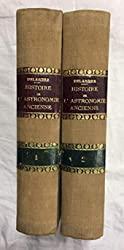 HISTOIRE DE L'ASTRONOMIE ANCIENNE. 2 Tomos de M. DELAMBRE