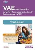 VAE pour l'obtention du CAP Accompagnant éducatif Petite enfance - AEPE - Tout-en-un (2020)