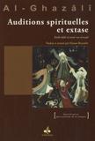 Auditions spirituelles et extase by Abû-Hâmid Al-Ghazâlî(2012-06-01) - Editions Albouraq - 01/01/2012