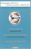 Sofcot 2009 - Le pied statique, Pathologie des sésamoïdes, Communications particulières