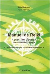 Manuel de Reiki - Premier degré de Nita Mocanu