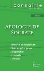 Fiche de lecture Apologie de Socrate de Platon (Analyse philosophique de référence et résumé complet) de Platon