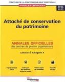 Attaché de conservation du patrimoine 2022 - Concours de catégorie A, concours externe, interne, 3e concours
