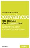 Convaincre en moins de 2 minutes - Marabout - 16/09/2009
