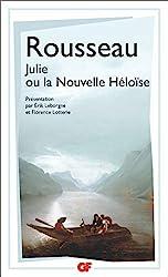 Julie ou La Nouvelle Héloïse de Jean-Jacques Rousseau