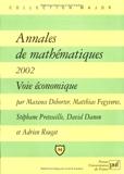 Annales de mathématiques 2002 - Voie Economique