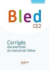 Bled CE2 - Corrigés - Edition 2017 de Daniel Berlion