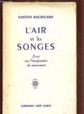 L'Air Et Les Songes - Essai Sur L'Imagination Du Mouvement - Jose Corti