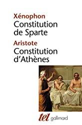 Constitution de Sparte - Constitution d'Athènes d'Aristote