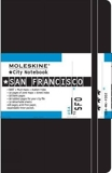Moleskine City Notebook SAN FRANCISCO Couverture rigide noire 9 x 14 cm