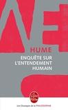Enquête sur l'entendement humain - Le Livre de Poche - 13/01/1999