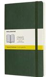 Moleskine - Carnet classique à grille pointillée | couverture souple avec Fermeture par élastique | Couleur Vert Myrte | Format A5 13 x 21 cm | 192 Pages