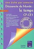 Découverte du monde - Le temps CP-CE1 - Retz - 10/09/2001