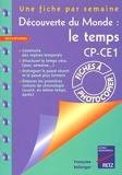 Decouverte Monde Temps Cp-Ce1 - Retz - 10/09/2001