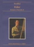 Romans et nouvelles, tome 2 - Feder