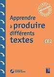 Apprendre à produire différents textes CE2 (+ ressources numériques) - Retz - 25/11/2020