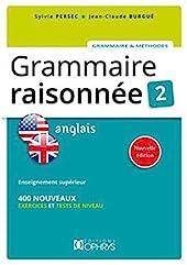 Grammaire Raisonnee 2 - Anglais de Sylvie Persec