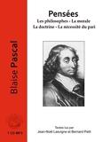 Pensées - Les philosophes - La morale La doctrine - La nécessité du pari (1 CD MP3) - Le livre qui parle - 22/01/2016