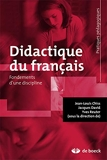 Didactique du français - Fondements d'une discipline (2015)