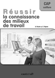 Réussir la connaissance des milieux de travail CAP Coiffure (2014) Livre du professeur (2014) - Delagrave - 11/07/2014
