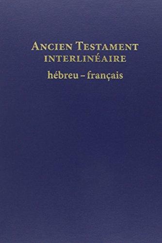 Ancien testament interlinéaire