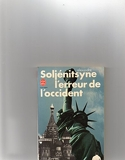 L'erreur et l'Occident - Le livre de poche - 01/01/1981