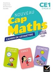 Cap Maths CE1 Éd. 2020 - Cahier de Géométrie-Mesure de Roland Charnay