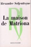 La maison de Matriona - Julliard