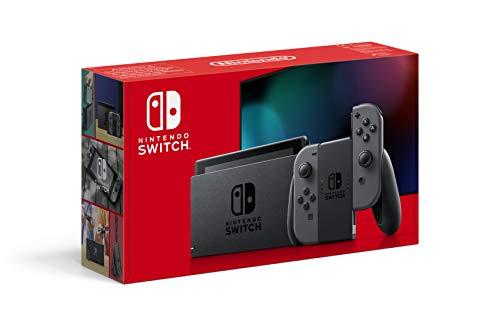 Console Nintendo Switch avec une paire de Joy-Con grises