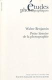 Etudes photographiques, N° 1, Novembre 1996 - Petite histoire de la photographie : Tiré à part