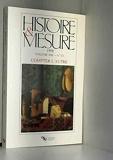 Histoire et mesure, vol. XIII, n 1-2/1998. compter l'autre