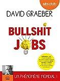 Bullshit Jobs - Livre audio 2 CD MP3 - Audiolib - 17/04/2019