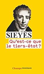 Qu'est-ce que le tiers-état ? d'Emmanuel Sieyès