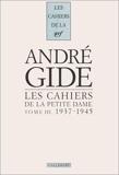 Les cahiers de la petite dame, tome 3, 1937-1945