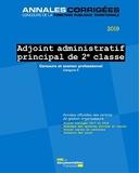 Adjoint administratif principal de 2e classe - Concours externe, interne et 3e concours, concours professionnel d'avancement de grade Catégorie C